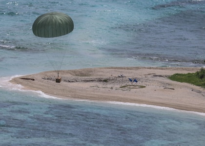 USAF, RAAF, JASDF complete first Operation Christmas Drop 2017 sortie