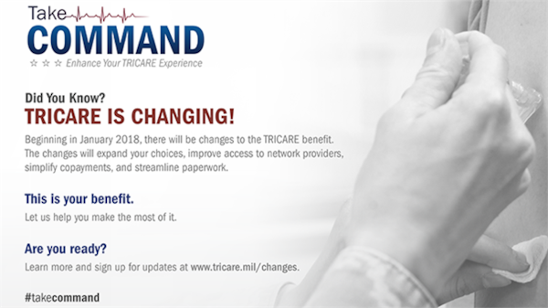 Beginning in January 2018, there will be changes to the TRICARE benefit.