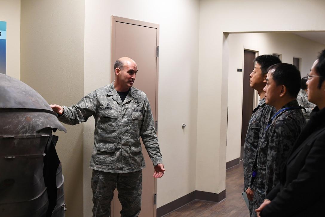 Japanese Airmen Visit Vandenberg