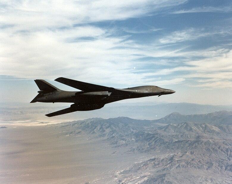 B-1B Lancer testing