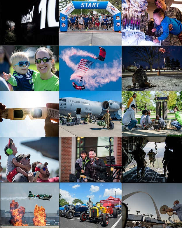 Scott Air Force Base had a very successful and memorable year celebrating its Centennial in 2017.