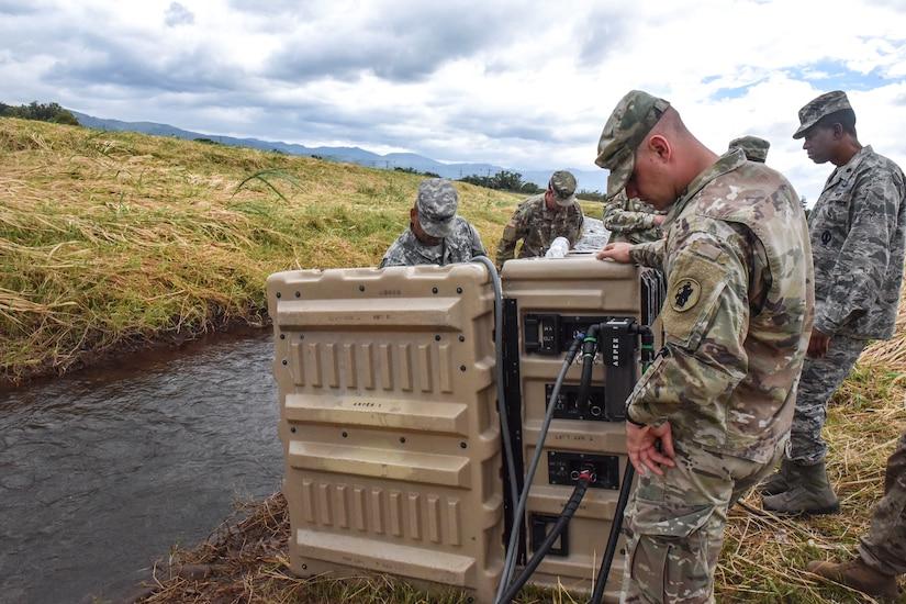 SOUTHCOM Situation Assessment Team prepares at Soto Cano