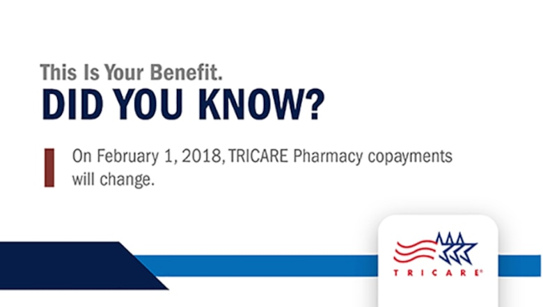 Take Command Increases To Tricare Pharmacy Copayments Coming Feb 1 2018