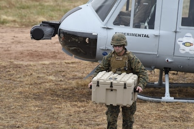 Autonomous Flight Technology to Provide Rapid Resupply for Marines