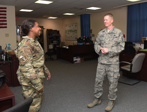 It's no secret that for a group of people to thrive peacefully, there usually needs to be an unbiased party that can bring an objective perspective. That is where our first sergeants come in to play. First sergeants are vital to the health and morale of the enlisted force, which contributes directly to mission success.