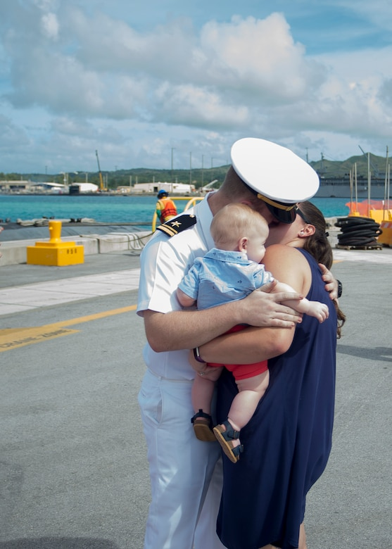 Asheville Arrival to Guam