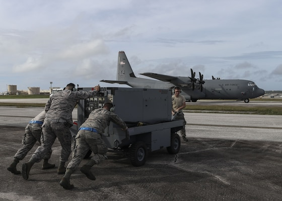 Maintainers help aircrews deliver bundles of joy