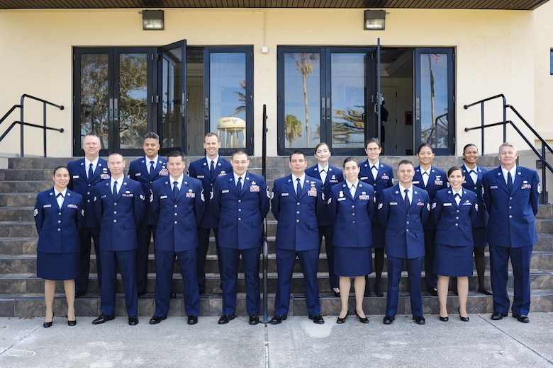 6th Annual 920th Rescue Wing Community College of the Air Force graduates
