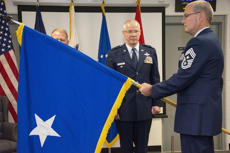 Virginia National Guard Air Component Commander assumption of command ceremony.