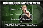 Continuous improvement at DLA is about more than just process, touching on every employee through four phases.