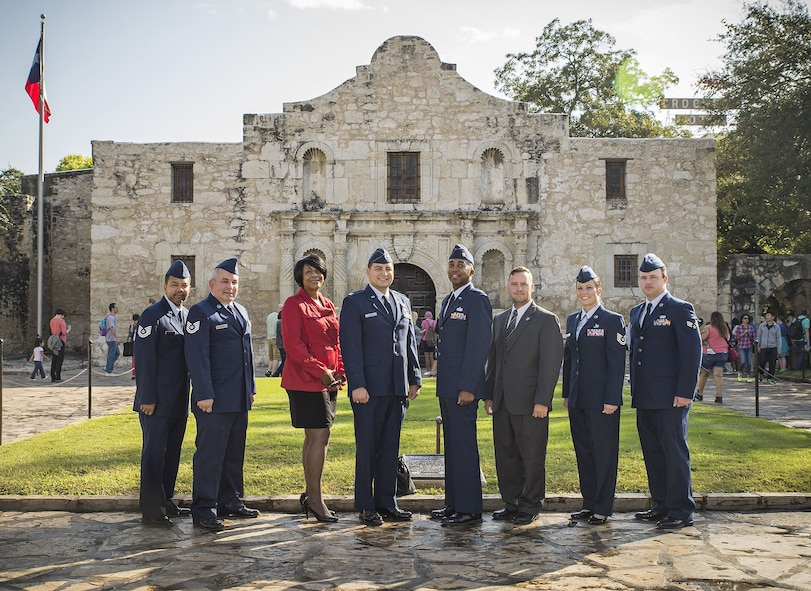 The 433rd Airlift Wing Public Affairs Team