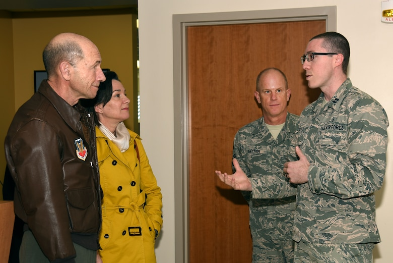 ACC leaders visit Shaw, connect 20th FW to higher missions