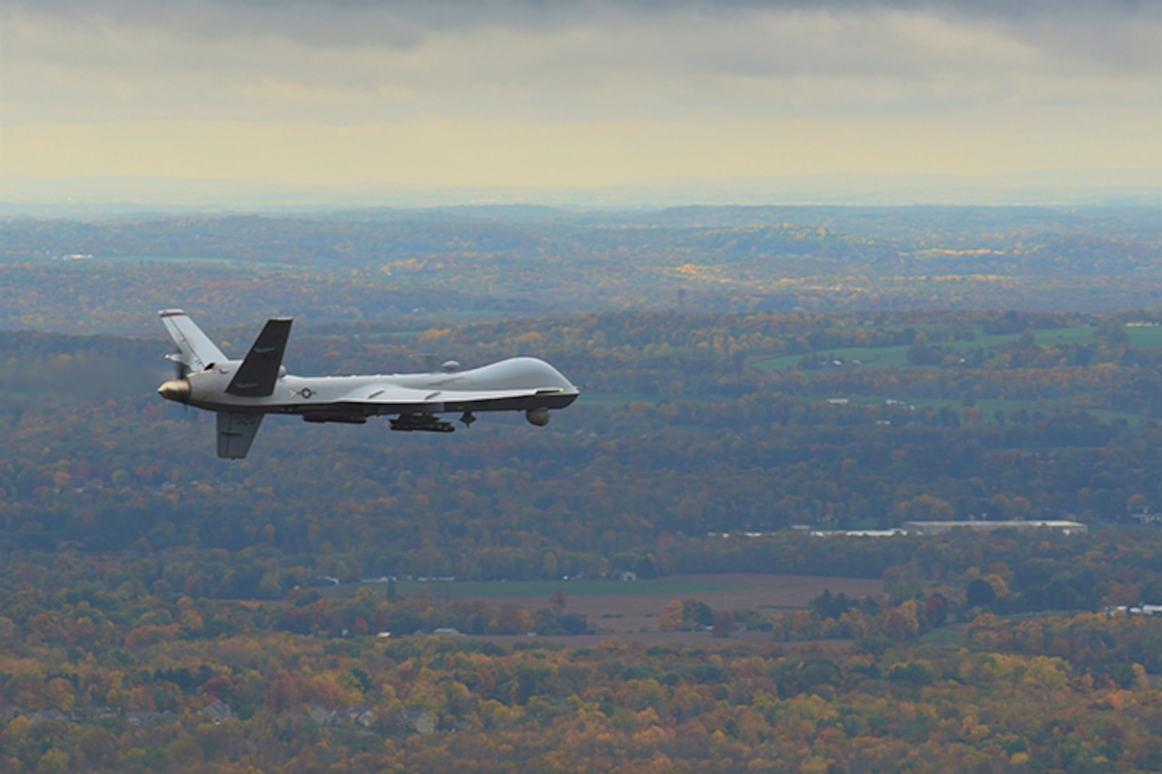 N.Y. Air Guard drone operators help Cali.