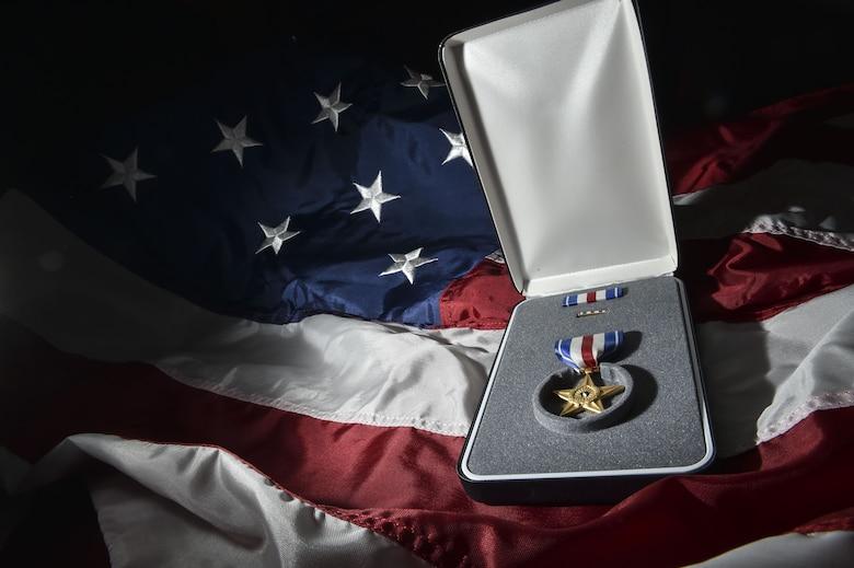 Chief Master Sgt. Michael West was awarded the Silver Star Medal Dec. 15, 2017, at Hurlburt Field, Fla.