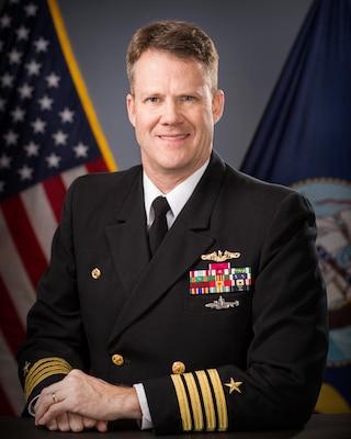 Captain Gregory D. Burton, USN, Commander, Pearl Harbor Naval Shipyard & Intermediate Maintenance Facility (PHNSY & IMF)
