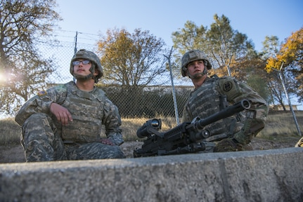 Ready to fire: Military police join Cold Steel