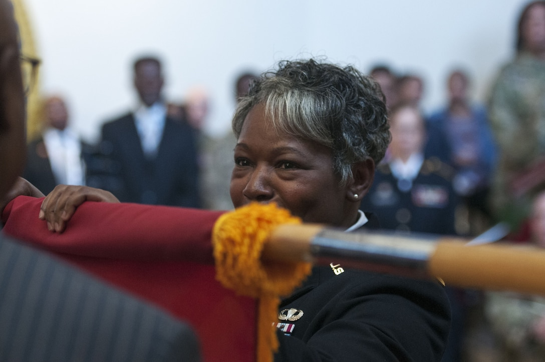 Col. Twanda Young gets promoted to brigadier general