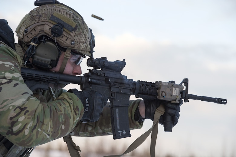 3rd Air Support Operations Squadron hone marksmanship skills on JBER
