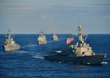 USS Chafee completes voyage repair availability in Singapore