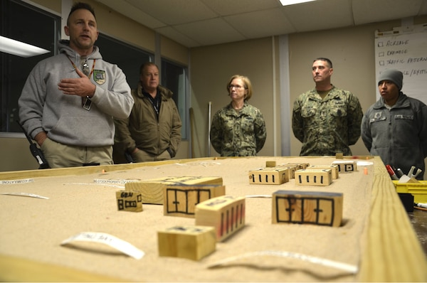 DLA Disposition Services hosted its annual Expeditionary Force Leadership Huddle at the Hart-Dole-Inouye Federal Center in Battle Creek, Michigan, Dec. 9-10.