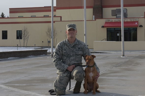 Airman deploys for hurricane, returns with new friend