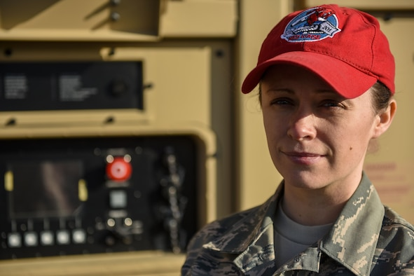 Senior Airman Michele Reese portrait.