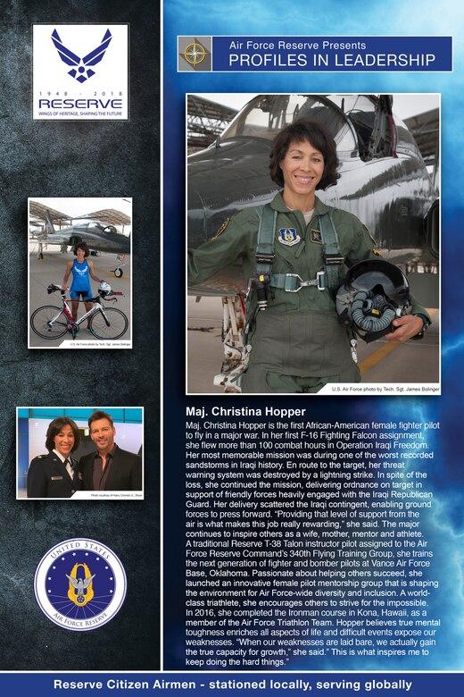 Profiles in Leadership Vol. III: Maj. Christina Hopper- 5th Flying Training Squadron
