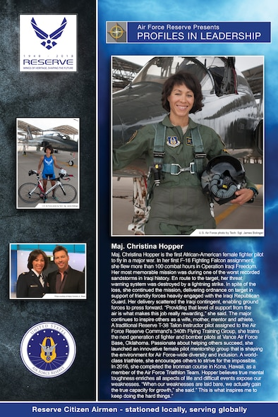 Profiles in Leadership Vol. III: Maj. Christina Hopper- 5th Flying Training Squadron