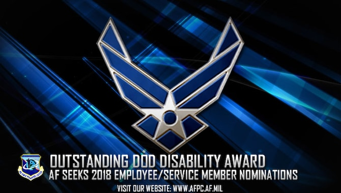 AF accepting nominations for employee, Airman with disabilities DOD award