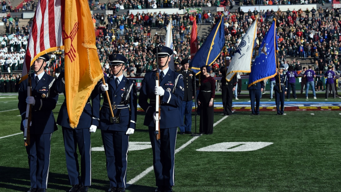 Team Kirtland aids the Gildan New Mexico Bowl