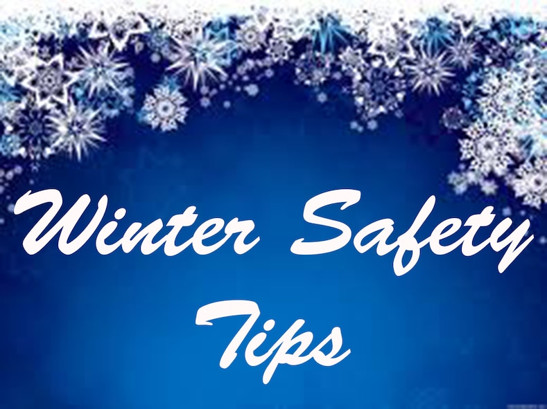 The winter holidays bring family fun, festivities, and traditions, but also brings extra safety precautions to take into consideration. Visit the Centers for Disease Control's Winter Weather website for more information on winter safety tips https://www.cdc.gov/disasters/winter/index.html. (Courtesy Photo)