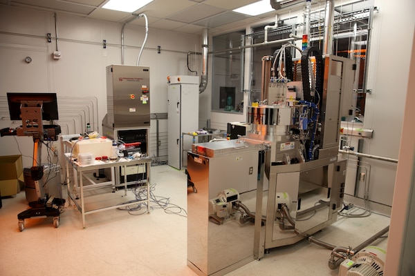 A Deep Reactive Ion Etcher (DRIE) is now operational at Naval Surface Warfare Center Indian Head EOD Technology Division. DRIE fulfills a vital role in Microelectromechanical Systems (MEMS) device fabrication.