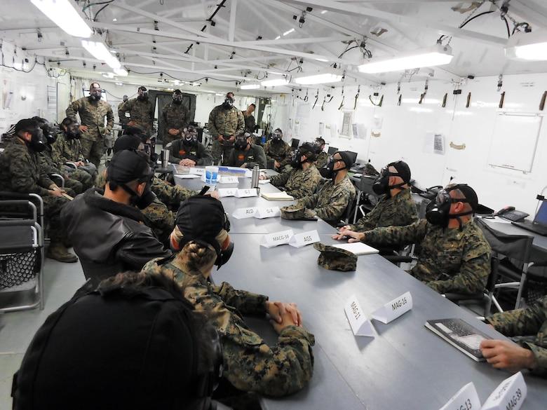 GAS! GAS! GAS! CBRN Marines hone their skills at exercise Winter Fury 18