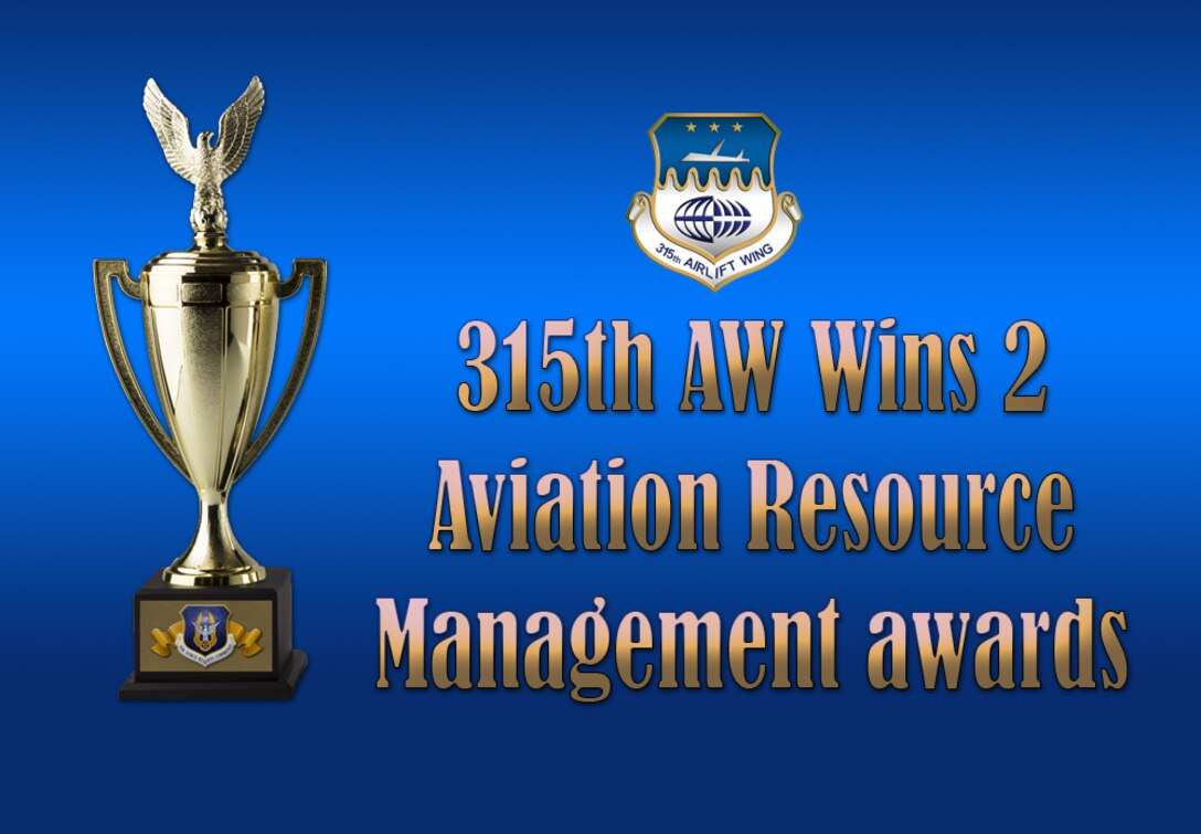 315 AW wins 2 Aviation Resource Management awards