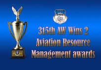 315 AW wins 2 Aviation Resource Management awards