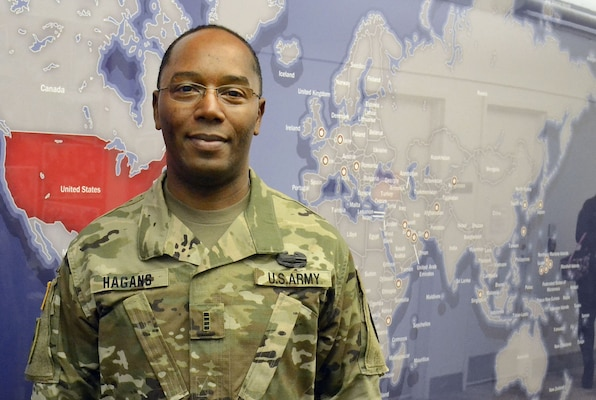 Army Chief Warrant Officer 4 Timothy Hagans is a food service technician serving in the Subsistence supply chain as part of the Army's career broadening program. Broadening assignments allow soldiers to gain knowledge and skills that complement those they acquired through Army service.