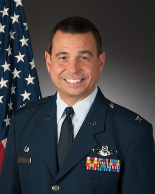 Official portrait of Col. Frank J. Lobash.