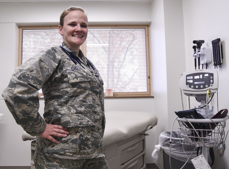 Maj. Cindy Callisto, 377 Medical Group nurse practitioner, was named the United States Air Force's top nurse for 2017. Callisto credits her team for helping her persevere through an undermanned summer at Kirtland Air Force Base.