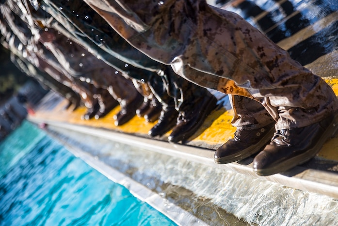 7th ESB Conducts Water Survival Training