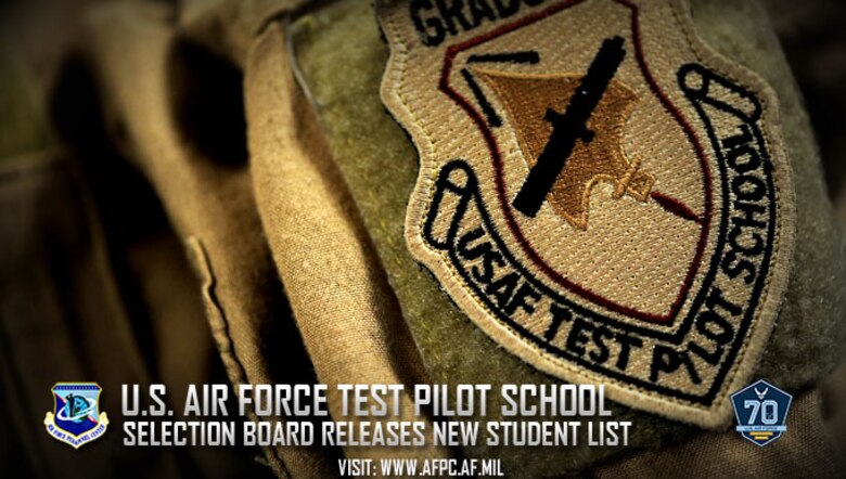 Air Force selects 63 officers, civilians for test pilot school