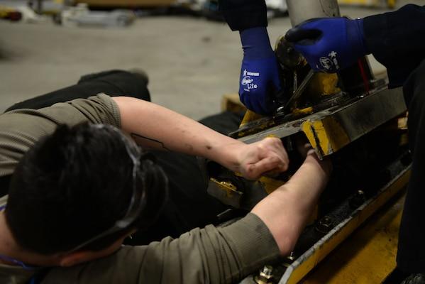 Heavy shop Airmen help maintain airfield integrity