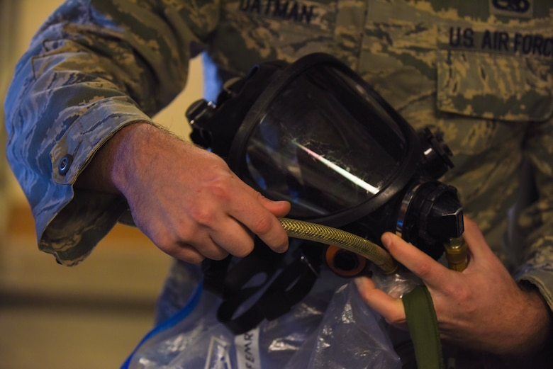 Inspecting, repairing, maintaining; C-130 fuel cell does it all