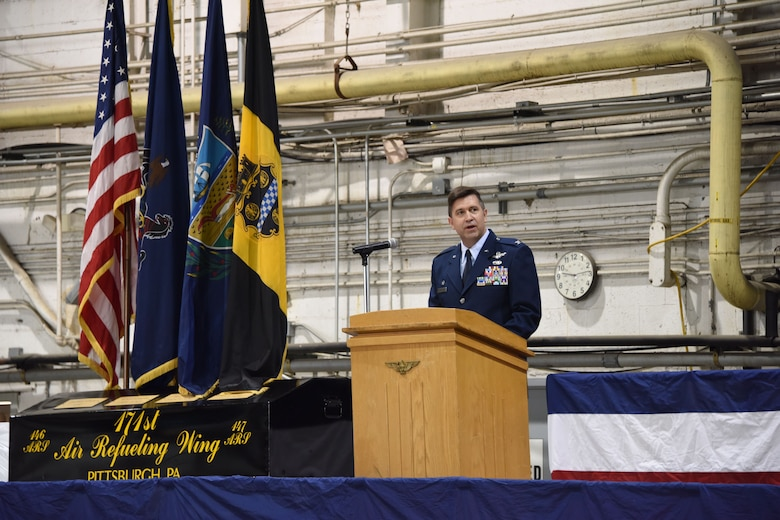 171st Air Refueling Wing Change of Command - photo