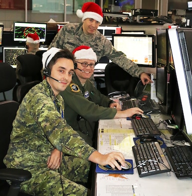 EADS Supports NORAD Santa Tracking