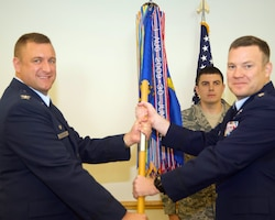 911 Air Refueling Squadron Change of Command, December 19, 201