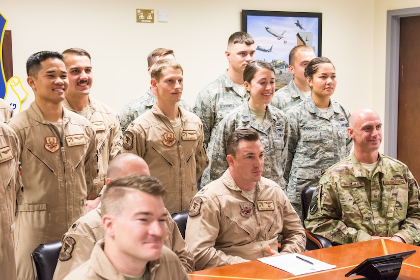 President Trump wishes Airmen a Merry Christmas
