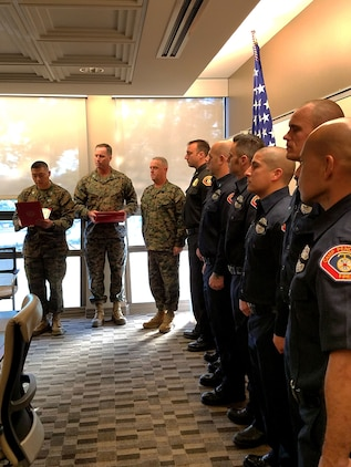 Pendleton first responders awarded for lifesaving efforts