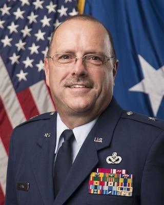 Brigadier General Joel A. Clark Official Photo