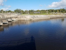 St. Lucie Lock and Dam releases down to zero