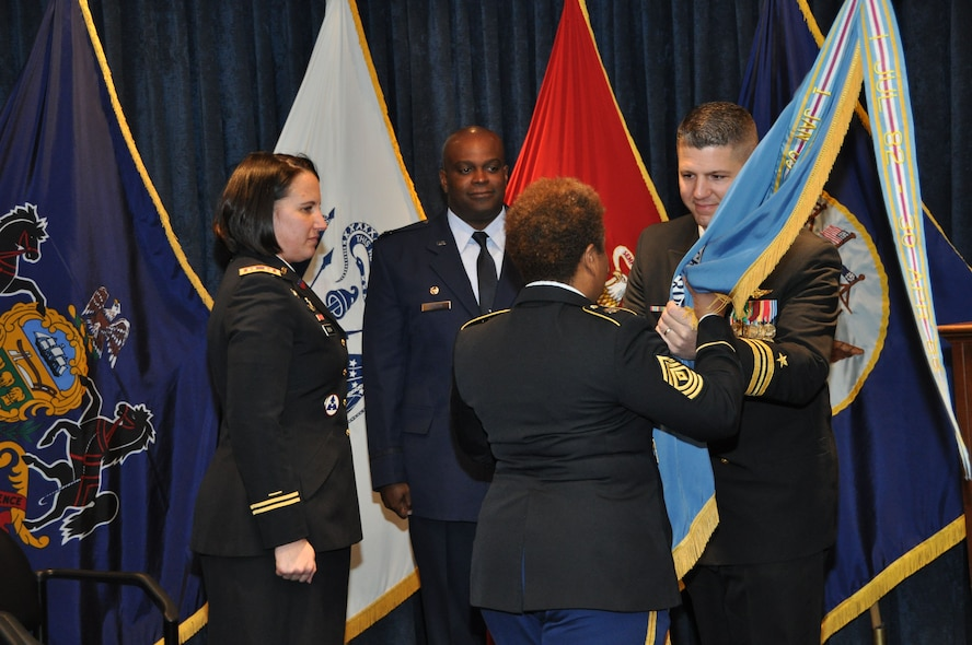 Buffalo MEPS Change of Command